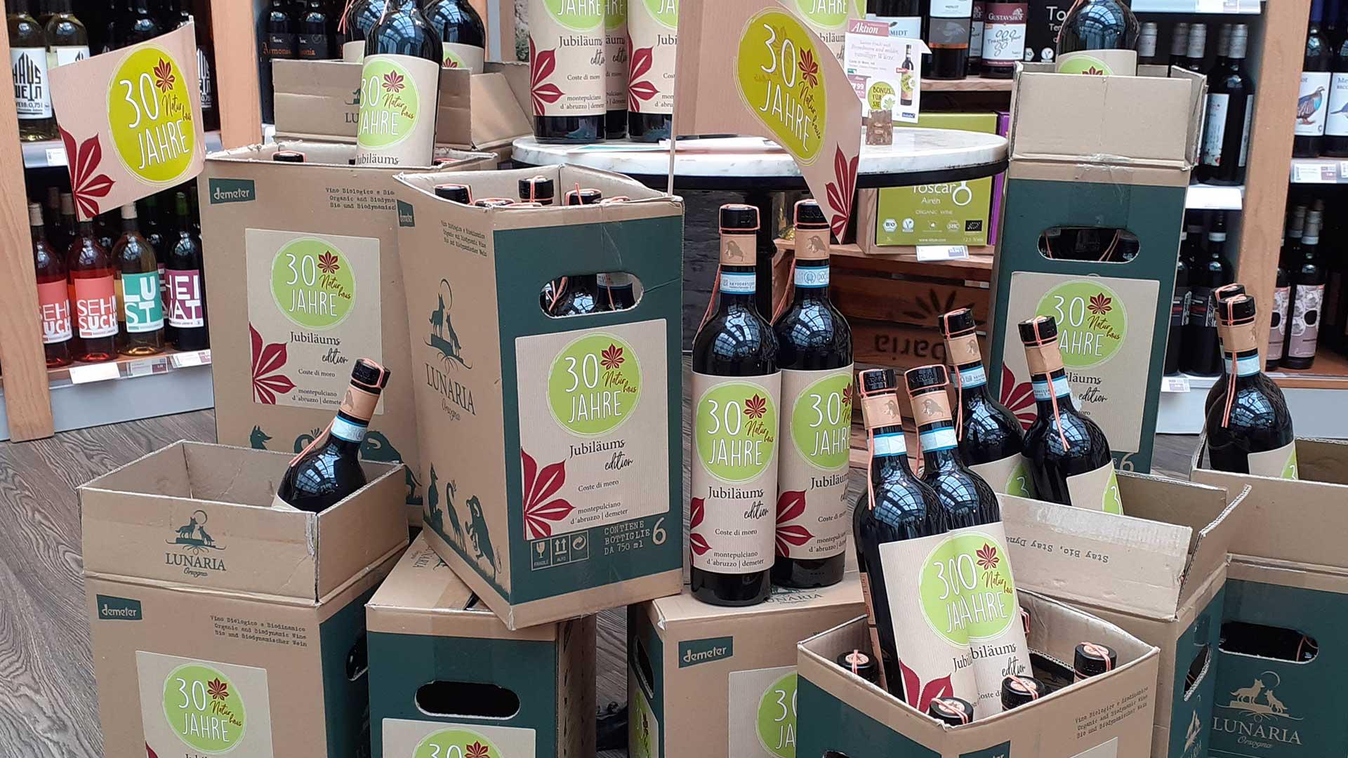 Bio Wein - Jubiläums Edition - Naturhaus Nördlingen