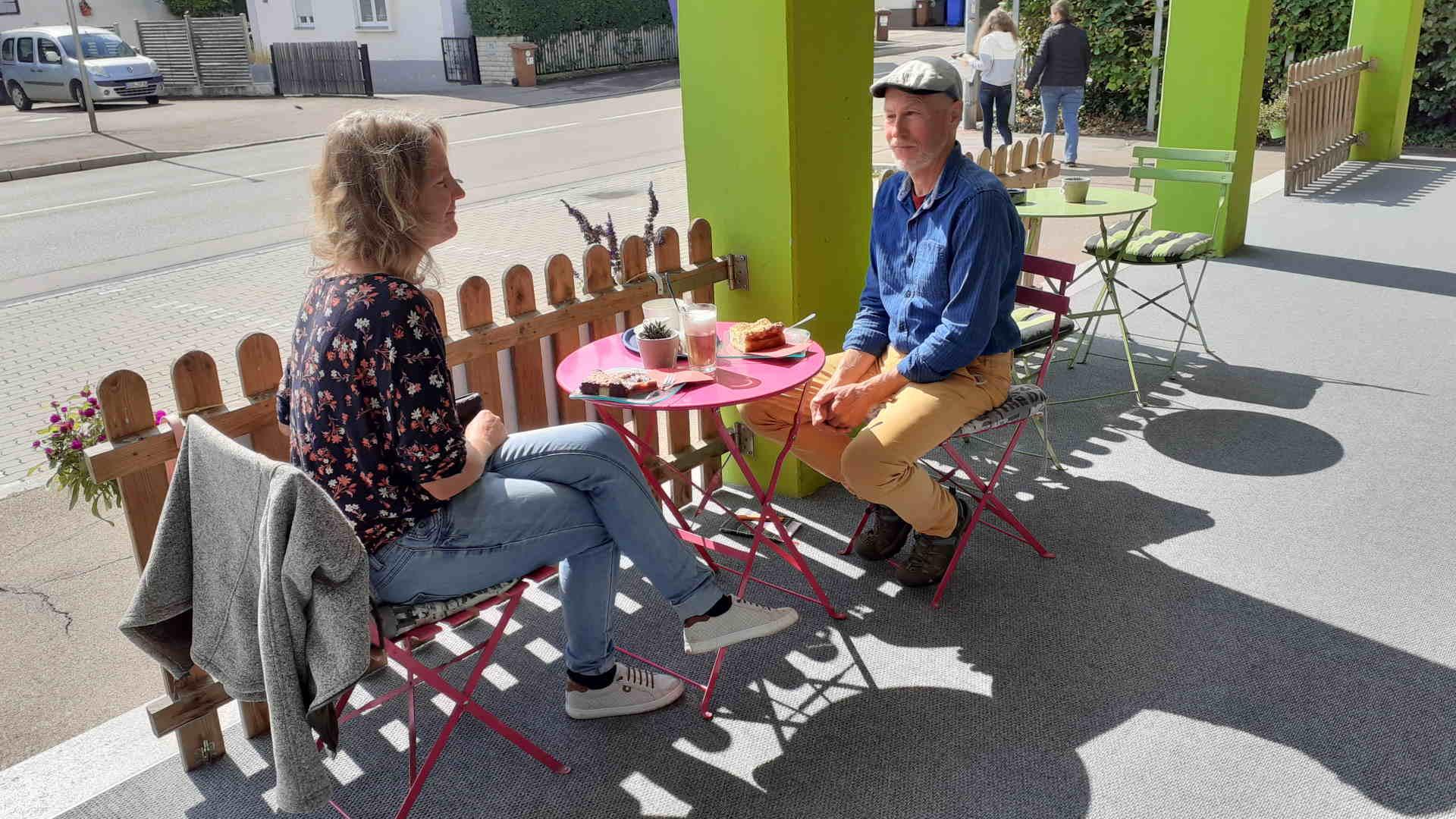 Terrasse neu Naturhaus Nördlingen